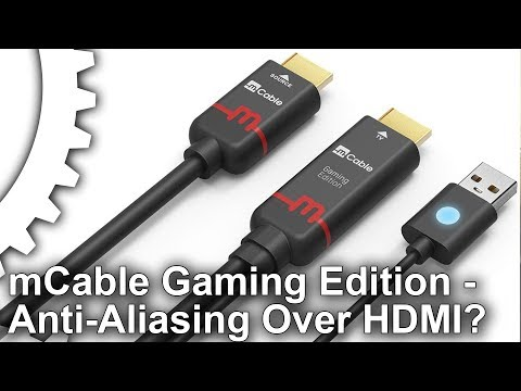 Hardware AA from an HDMI cable? mCable Gaming Edition Review