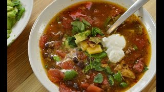 Easy Taco Soup Recipe (it's Delicious!)