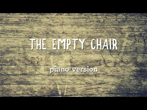 Sting - The Empty Chair [piano cover] + Sheet Music