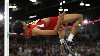 Vashti Cunningham 196 cm. ( Gold medal. World indoor championship Portland 2016 )