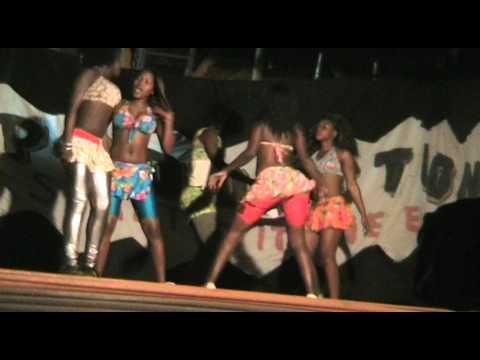 Eest Africa dancing girls Uganda #2