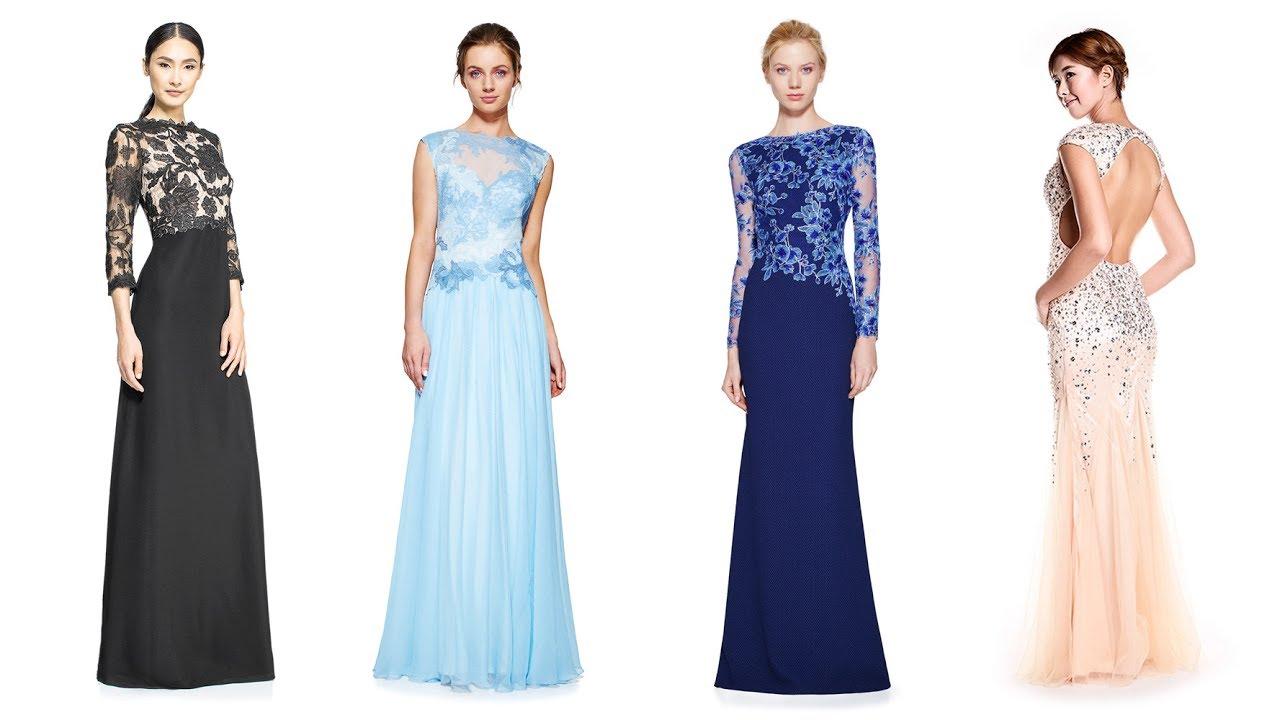 2e7d897db7 Długie suknie wieczorowe    Long Dresses For Women - YouTube