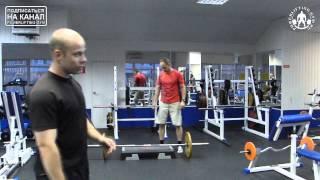 Становая тяга. Видео. Какими упражнениями можно улучшить срыв в становой тяге?(Задайте нам вопрос в нашей группе ВКонтакте http://vk.com/powerliftinggym Мы в Facebook ..., 2013-07-18T15:10:55.000Z)