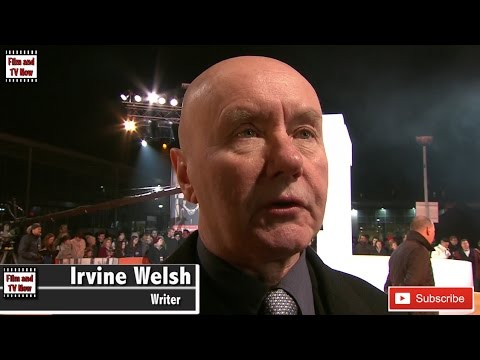 Irvine Welsh T2 Trainspotting World Premiere Red Carpet Interview