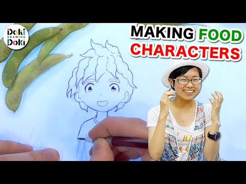 CHARACTER DESIGN|Japanese Food?!