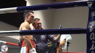 Первый профессиональный бой сына абсолютного чемпиона мира Кости Цзю - Тима Цзю.