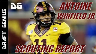 Antoine Winfield Jr: Minnesota Safety   2020 NFL Draft Scouting Report
