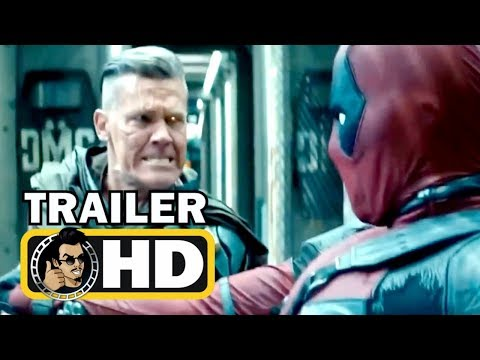 "DEADPOOL 2 ""Deadpool vs Cable"" TV Spot Trailer NEW (2018) Ryan Reynolds Marvel Superhero Movie HD"