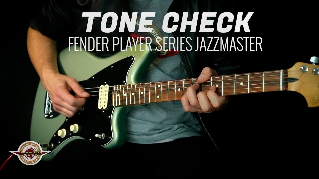 TONE CHECK: Fender Player Series Jazzmaster Demo - NO TALKING