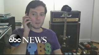 Martin Shkreli Holds Post-Arrest Live Stream