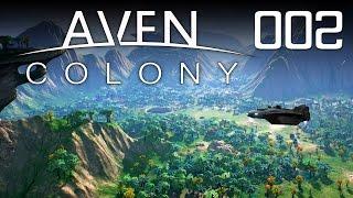 AVEN COLONY [002] [Fremde Planeten kolonisieren] [Let's Play Gameplay Deutsch German] thumbnail