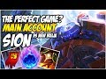 THE PERFECT SION TOP GAME Vs New Irelia Climb To Master S8 League Of Legends mp3