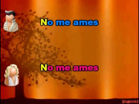 Jennifer Lopez y Mark Anthony - No me ames (karaoke)