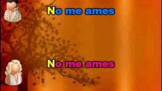 Jennifer Lopez y Mark Anthony - No me ames (karaoke)