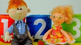 Видео для детей: Веснушка и Конопушкин. День сюрпризов!