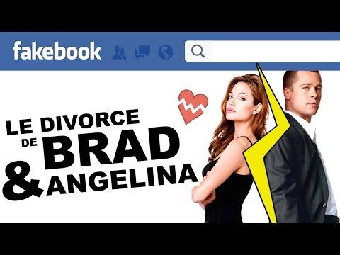 Le divorce de Brad Pitt et Angelina Jolie sur Facebook