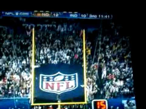 Pierre Thomas SuperBowl 44 touchdown!