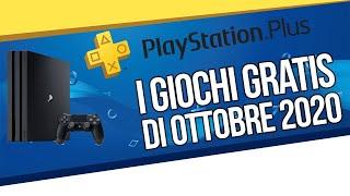 PlayStation Plus: i gi๐chi gratis PS4 di ottobre 2020
