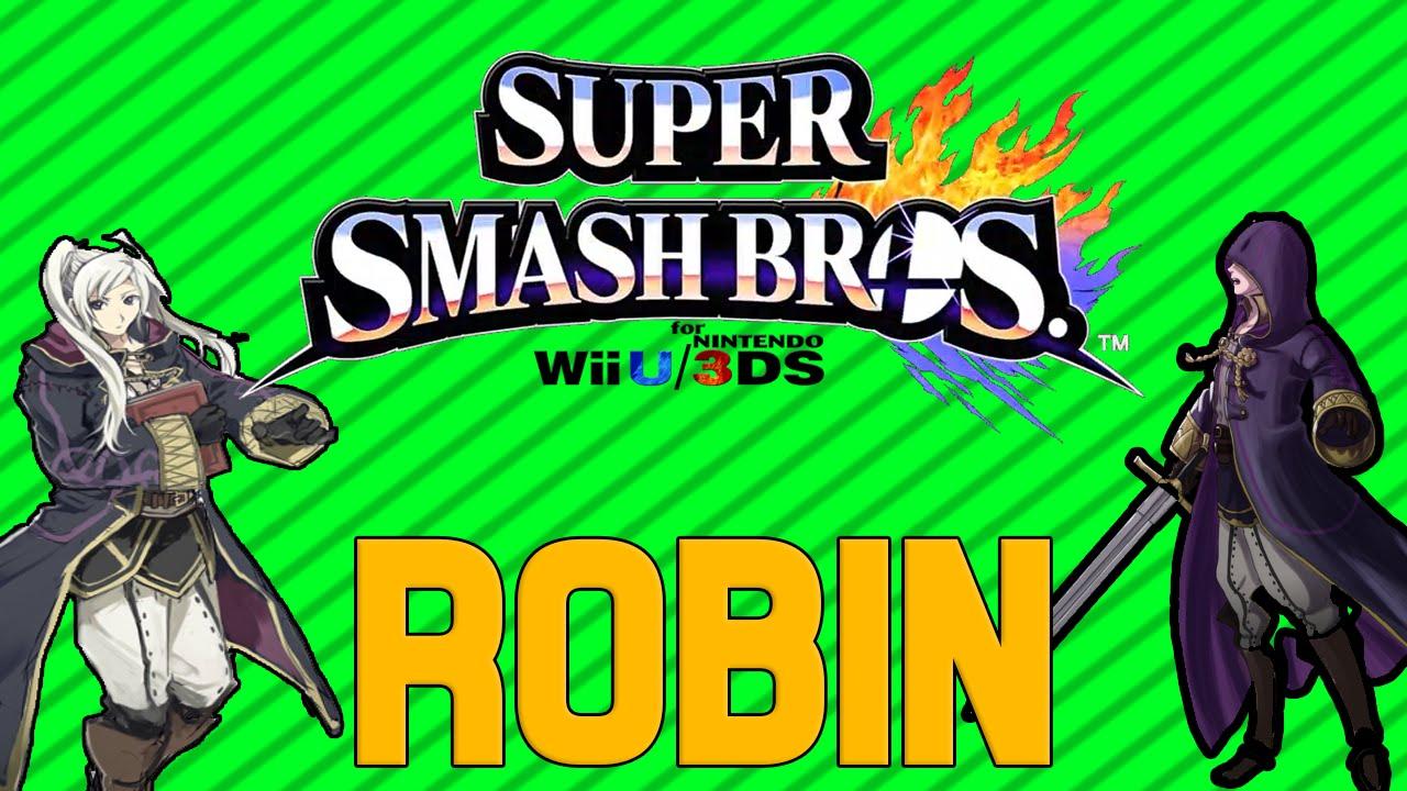 SSB4 Character Analysis - Robin - YouTube