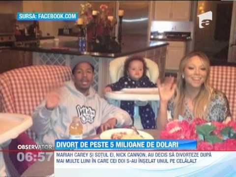 Mariah Carey si Nick Cannon au decis sa divorteze