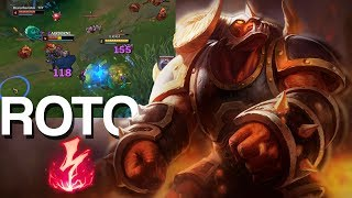 ALISTAR SUPPORT CON ELECTROCUTAR FULL CARRY PARTIDA EPICA