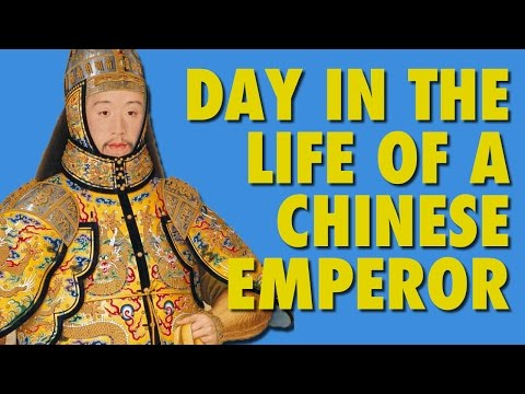 Day in Life of a Chinese Emperor