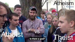 Teen Atheist vs Teen Theist & Dustin Segers (2012) | Reviewed