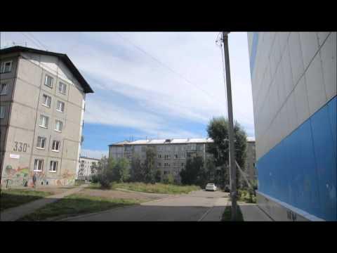 Soviet Style Ugly Ass Buildings in Irkutsk, Russia