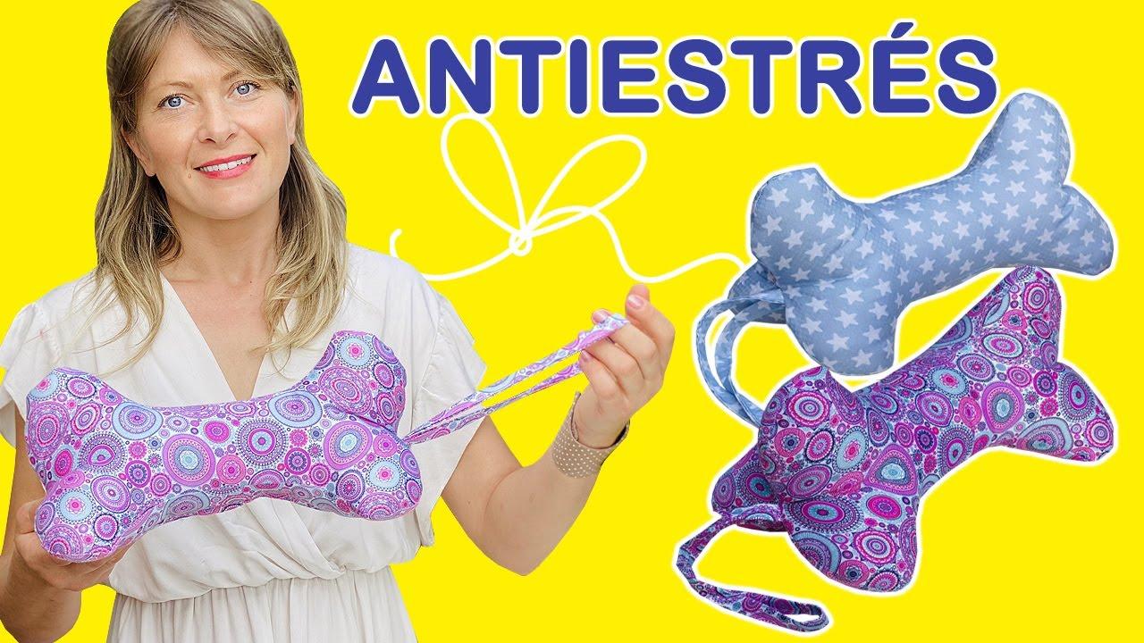 Como Hacer Cojín Antiestrés / Almohada Cervical Para El Cuello