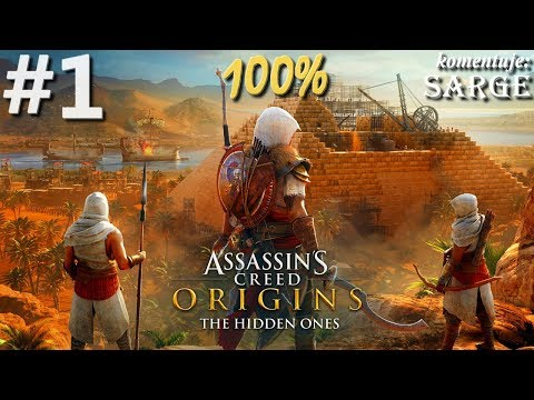 Zagrajmy w Assassin's Creed Origins: The Hidden Ones DLC (100%) odc. 1 - Ukryci na Półwyspie Synaj