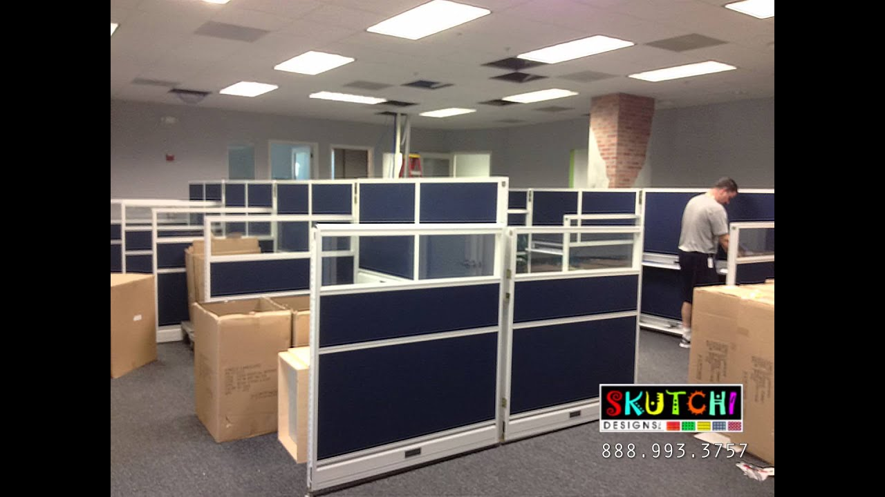 Cubicle And Office Furniture Installation In Boca Raton Florida