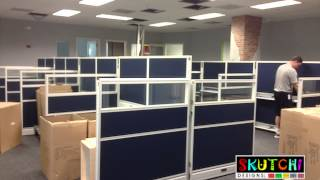 Cubicle And Office Furniture Installation In Boca Raton, Florida
