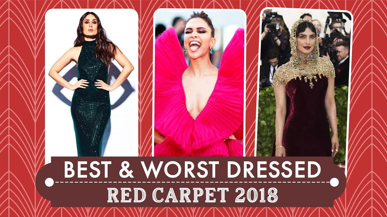 Deepika Padukone, Priyanka Chopra, Alia Bhatt :  Best and Worst Dressed at Red Carpet 2018
