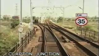 Railway Cab Ride - Route Learning Video - Bethnal Green to Harlow Town 1989
