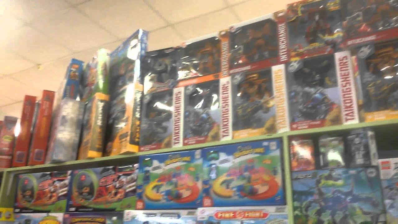 ВЛОГ! Много игрушек. Поход в магазин игрушек. machine transformer