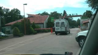 FKK Solaris Poreč- příjezd do kempu