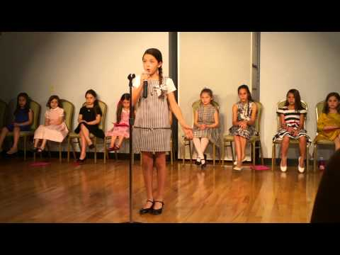 A Chorus Line Musical - Nothing - Live Katalina Age 10
