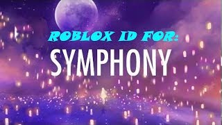 (Roblox) ID for Clean Bandit - Symphony feat. Zara Larsson