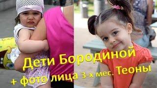 Дети Ксении Бородиной