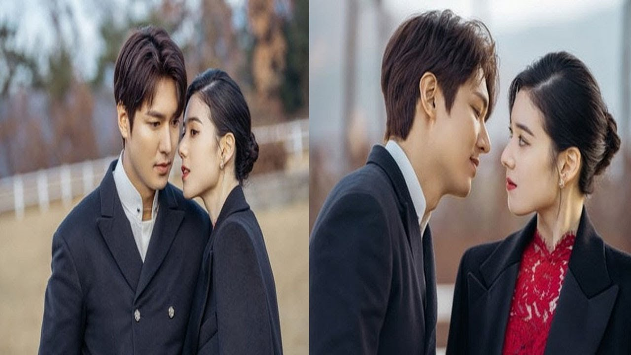 """Lee Min Ho unexpectedly kisses """"wife"""" Jung Eun Chae in The King Eternal Monarch !!!"""