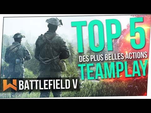 Vos Meilleures Actions Teamplay sur Battlefield 5   TOP 5. Ep.7 thumbnail