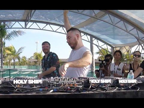 Duke Dumont Holy Ship 8.0 2017 Live Beach Party Clip
