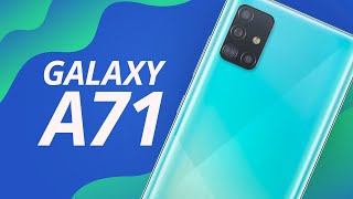 Galaxy A71: um super Galaxy A51 [Unboxing]