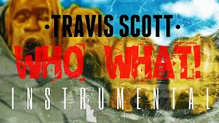 Travis Scott - Who What [INSTRUMENTAL] I Prod. by IZM
