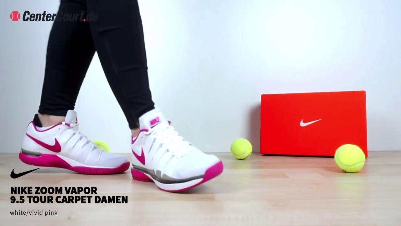 Nike Zoom Vapor 9 5 Tour Carpet Tennis Schuh Damen