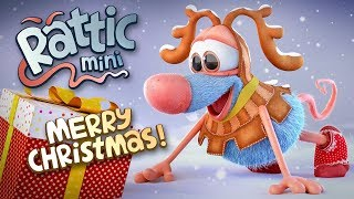 Christmas Funny Cartoon | Rattic Mini – Merry Christmas | Funny Cartoons For Children & Kids