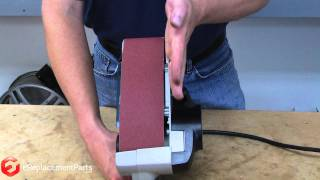 How To Replace And Align The Belt On A Belt Sander--a Quick Fix