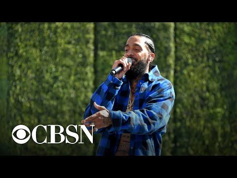 Thousands honor the life of late rapper Nipsey Hussle
