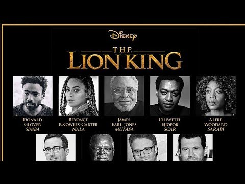 The Lion King 2019 Movie Voice Actors And Characters