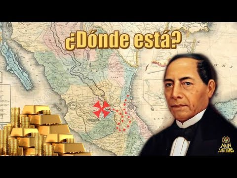 El fabuloso tesoro perdido de Benito Juárez
